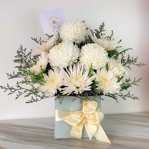 Sympathy's and Funeral table flowers