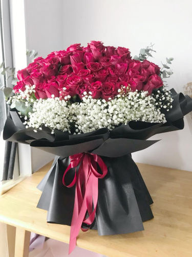 Romantic 99 Roses Bouquet