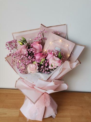 520 Pink Pink Bouquet