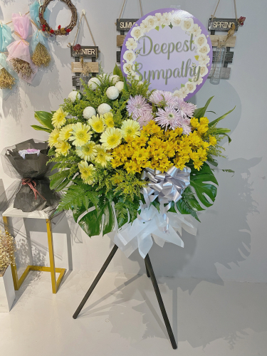 Condolences Flower Stand