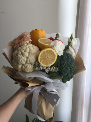 Vegetable flower bouquet