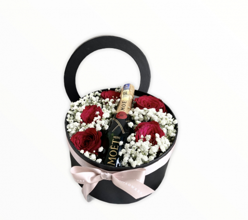 Valentine's Day 2021 ( Classic Moet & Chandon Rose box )