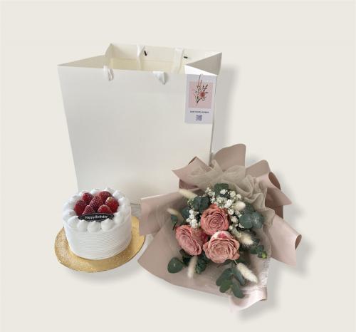 Cake & Cappuccino Bouquet