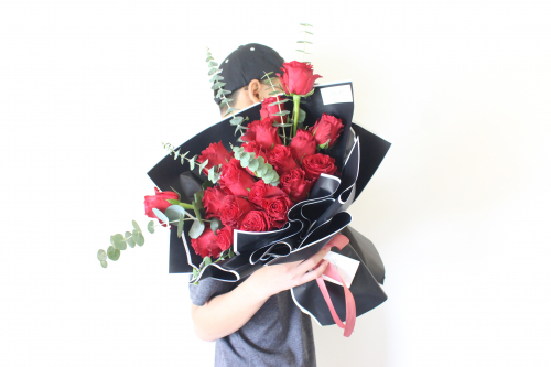 520 I LOVE YOU (20 RED ROSES)