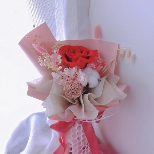 [VALETINE'S 2021] Long lastng love (Preserved flowers)