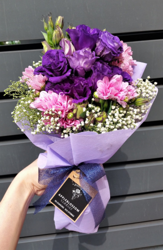 Loving You - Purple Eustoma
