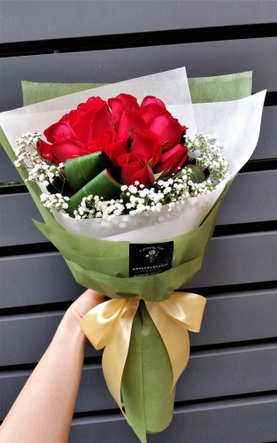 Dignity - Red Roses Bouquet