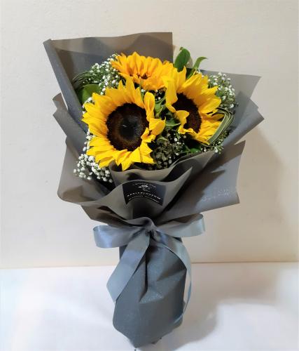 Sunflower Bouquet (3 Stalks)