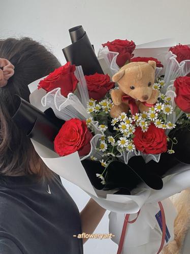 520 Roses bouquet 🌹