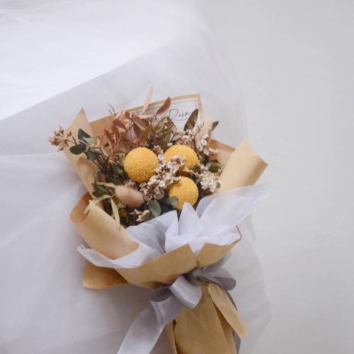Spirited Dried Flower Bouquet
