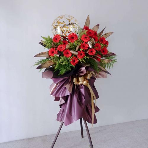 Prosperity Opening Flower Stand