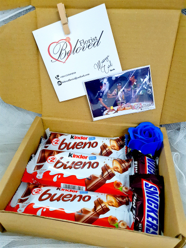 Chocolate Suprise Gift Box 04 ~ Nationwide (COURIER DELIVERY)