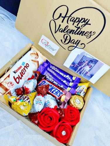 Valentine Chocolate Surprise Gift Box