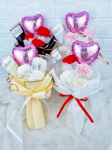Soap Carnation Bouquet  - MM006 (Mother's Day)