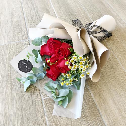 Korea Style 15 Flower Bouquet