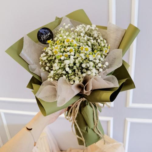 Korea Style 17 Flower Bouquet