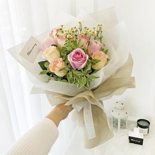 Korea Style 20 Flower Bouquet