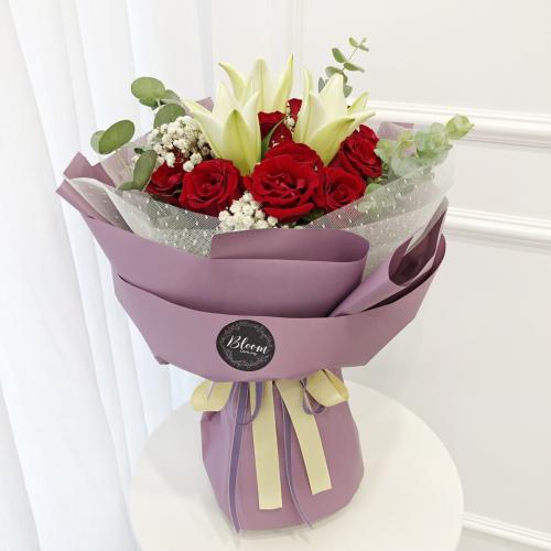 Korea Style 60 Flower Bouquet
