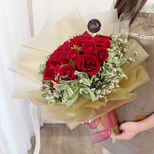 Korea Style 68 Flower Bouquet