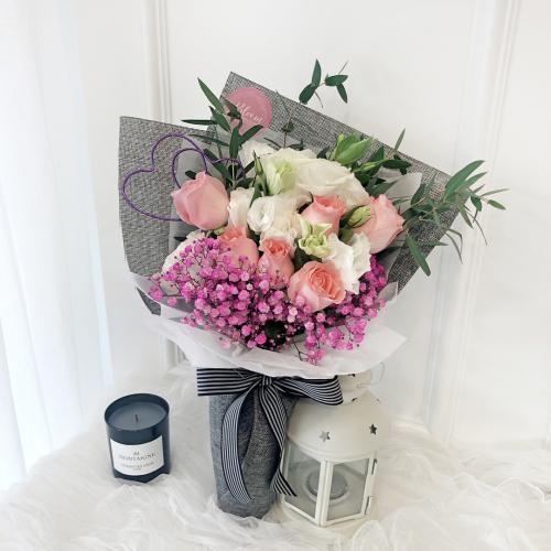 Korea Style 28 Flower Bouquet