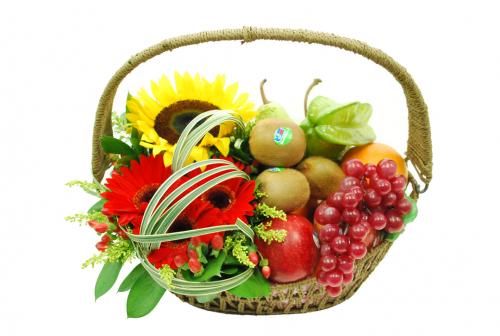 Flowers & Fruits Basket 03