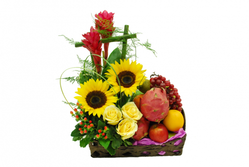 Flowers & Fruits Basket 02