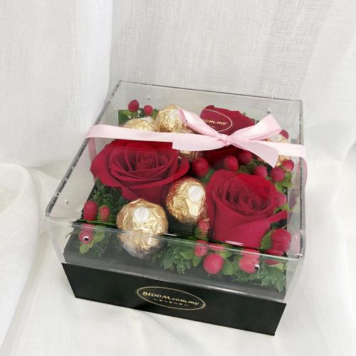 Acrylic Flower Box 02
