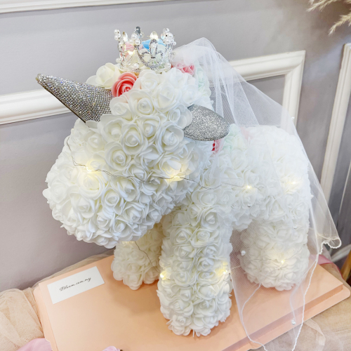 White Rose Unicorn