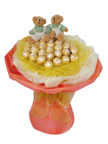Bear With Ferrero Rocher 01