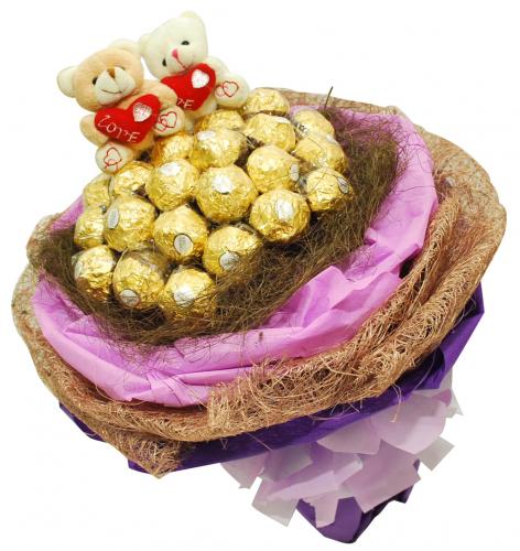 Bear With Ferrero Rocher 04