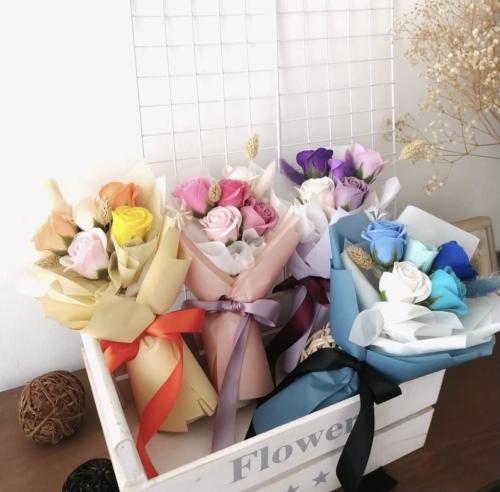 Soap Flower Bouquet in 5