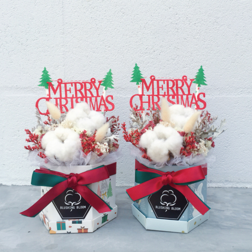 *SOLD OUT* CHRISTMAS GIFT : PRESERVED FLOWER BOX