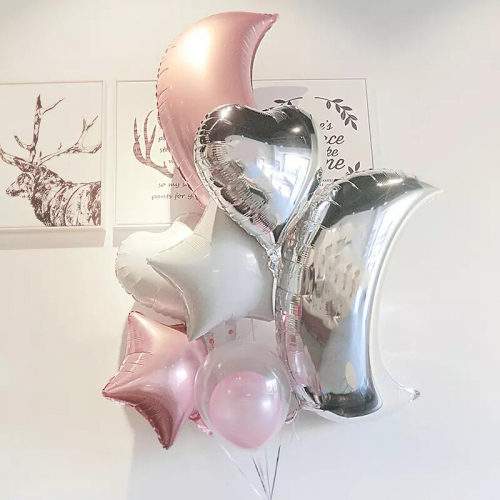 LOVE YOU TO THE MOON & BACK : HELIUM BALLOONS