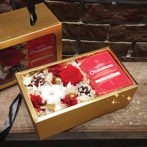 SHINING CHRISTMAS 🌟 PRESERVED FLOWER BOX