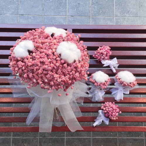 LOVE CANDY : BRIDAL BOUQUET + CORSAGE PACKAGE