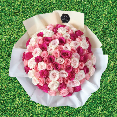 ENDLESS LOVE : 99x ROSES BOUQUET