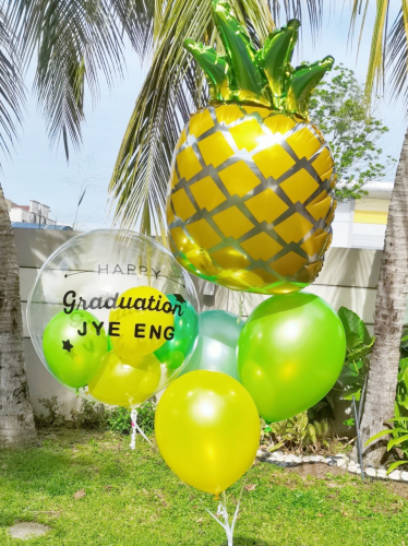 PINEAPPLE PARTY : HELIUM BALLOONS