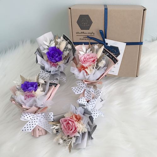 MOTHER'S DAY SPECIAL : MINI ROSIE DOSIE GIFT BOX BOUQUET