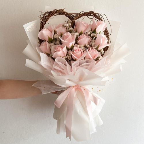 V Day 2021 - Julissa Soap Flower Bouquet