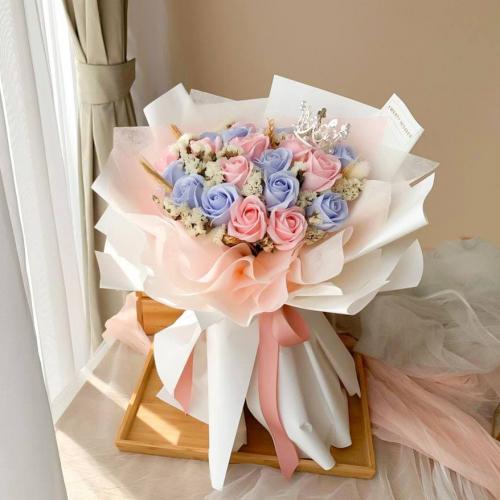 Denisse Soap Flower Bouquet