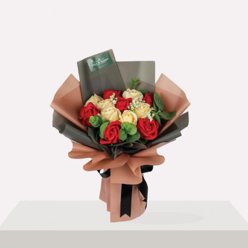 Bella Soap Flower Bouquet