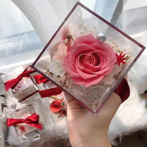 Arcylic Preserved Flower Box