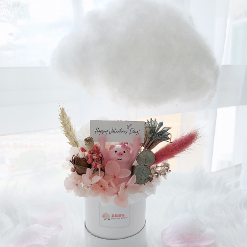 Fluffy Cloud Preserved Box