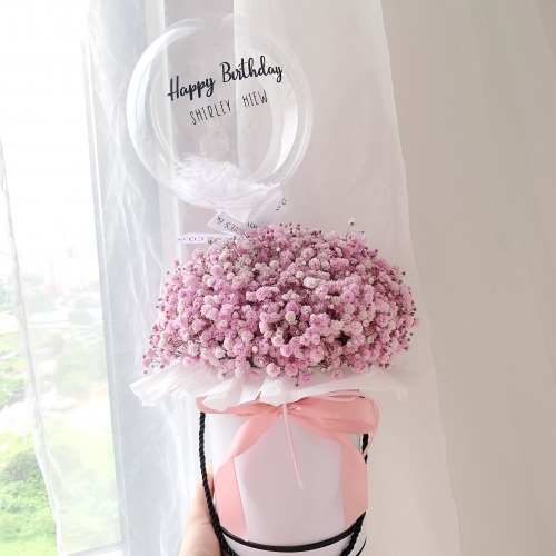 Baby Breath Box (Pink)