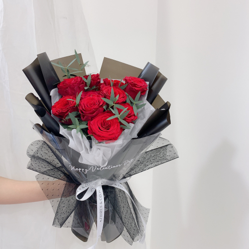 VALENTINE'S DAY 2021 | PERFECTION (10 STALKS ROSES)