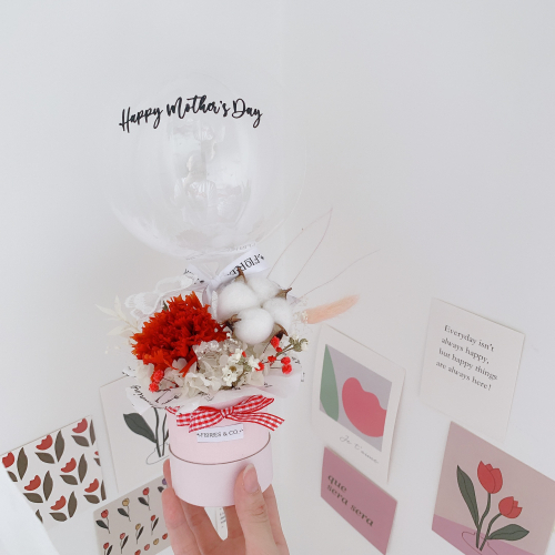 [MOTHER'S DAY] PRESERVED MINI BALLOON BOX