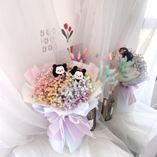 Chinese Valentine's Day   Tsum Tsum Rainbow Baby Breath