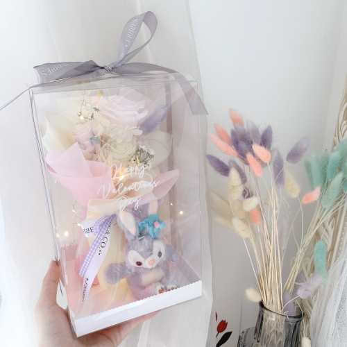 Chinese Valentine's Day | Stella Lou Pastel Colours Preserved Flowers