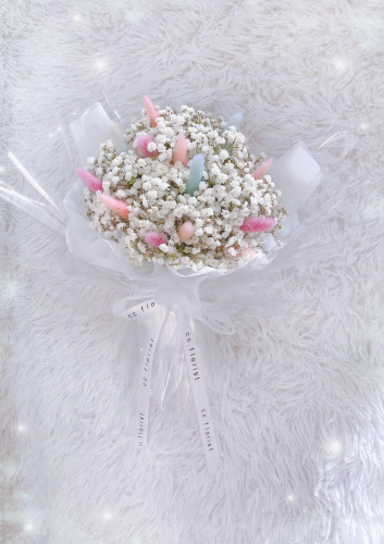 Baby Bunny Tail Bouquet