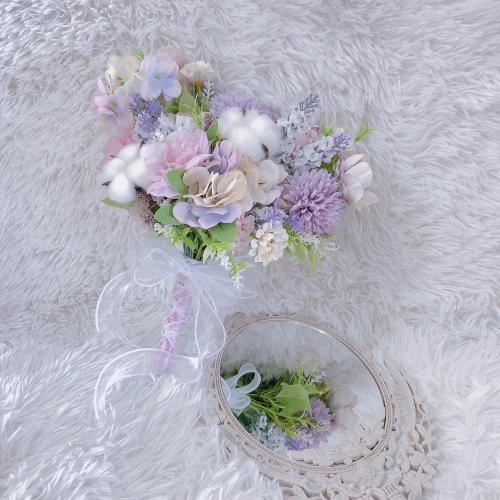 Artificial Bridal Bouquet (Artificial Flowers)